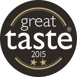 Great Taste Awards 2015 2 stars